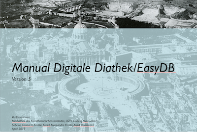 Manual Digitale Diathek/EasyDB